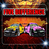Sport Cars Five Difference